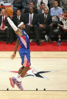 Lebron James dunk one of a kind
