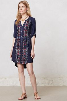Plein Air Shirtdress #anthropologie -- when this goes on sale, I'm gonna buy it so hard!