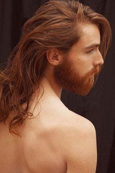 Texture Love by Pia Schweisser - Brodybookings - Beard Model Ginger Men, Ginger Beard, Ginger Hair, Hair And Beard Styles, Long Hair Styles, Long Hair Beard, Redhead Men, Beard Model, Awesome Beards