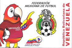 Postal: Federación Mexicana de Fútbol (Venezuela) (Ipostel - American cup Venezuela 2007) Col:ve_ipostel_CAV_10