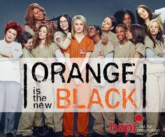 #DomingoHapi Serie recomendada, Orange is the New Black. Excelente comedia drama por Jenji Kohan. Ten cuidado podría ser adictiva...