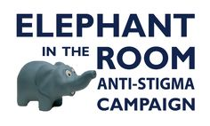 Mental Illness is definitely the elephant in the room in our society. Mental Health Advocacy, Mental Health Stigma, Mental Health Disorders, Mental Health Matters, Mental Health Awareness, Mental Illness, Bipolar Awareness, Social Stigma, Emotional Regulation