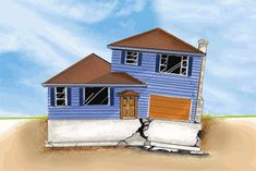 cracked house - Google Search