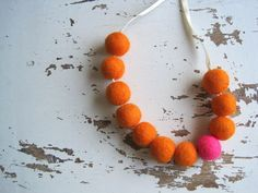 Nothing Rhymes with Orange  by Allison on Etsy My wood pendant / gift tag is included in this treasury on Etsy!