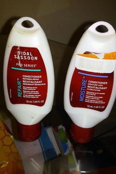 Lot of 2 Vidal Sassoon Conditioners Moisture and Repair 1.69 oz each in Health & Beauty, Hair Care & Styling, Shampoo & Conditioning | eBay