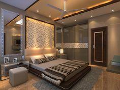 Wardrobe Design Bedroom, Luxury Bedroom Design, Bedroom Furniture Design, Master Bedroom Design, Indian Bedroom Decor, Living Room Tv Unit Designs, Bedroom False Ceiling Design, Apartment Interior, Luxurious Bedrooms
