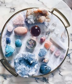 """""""Mercury Retrograde support group ✨ Head to the link in our bio for tips on how to survive and thrive (crystals, included) . Crystals Minerals, Crystals And Gemstones, Stones And Crystals, Crystal Magic, Crystal Healing, Crystal Altar, Crystal Grid, Healing Stones, Crystal Aesthetic"""