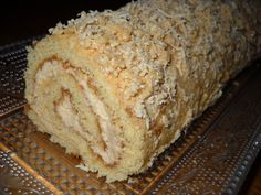 Medová roláda - My site Czech Recipes, Russian Recipes, Eastern European Recipes, Desert Recipes, Graham Crackers, Food Hacks, Sugar Free, Banana Bread, Sweet Tooth