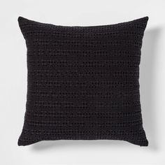 Black Throws, Black Throw Pillows, Lumbar Throw Pillow, Velvet Pillows, Decorative Throw Pillows, Black Couches, Cable Knit Throw, Knitted Throws, Cotton Style