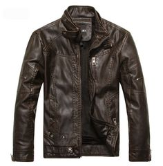 Motorcycle Leather & Suede Jacket