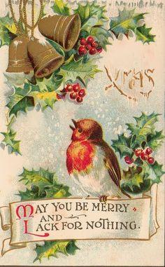 High Prairie Farmgirl: Vintage Christmas Cards with Birds