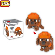 LOZ ABS 205Pcs Dog Shape Building Block Educational Toy Birthday Present #shoes, #jewelry, #women, #men, #hats, #watches, #belts