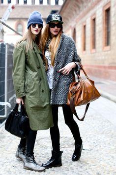 Milan Fashion Week Fall 2013 Models Pictures - StyleBistro