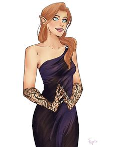 Feyre by Fuprin Book Characters, Fantasy Characters, Female Characters, A Court Of Wings And Ruin, A Court Of Mist And Fury, Feyre And Rhysand, Sarah J Maas Books, Throne Of Glass Series, Crescent City