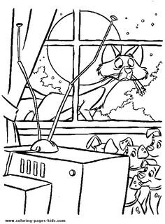 101 dalmations coloring page disney coloring pages, color disney sheet
