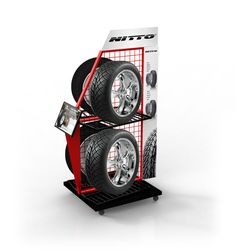 Simply Displays designs & manufactures custom retail displays, point of purchase displays & more. Pop Display, Display Design, Display Shelves, Store Design, Auto Parts Shop, Promotional Stands, Tyre Shop, Showroom Design, Point Of Purchase