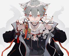 Hot Anime Boy, Cute Anime Guys, Anime Kunst, Anime Art, Anime Style, Pretty Art, Cute Art, Anime Boy Zeichnung, Handsome Anime Guys