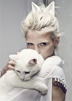 Tendance : Blanc futuriste - Trend : Futuristic White - Inspiration photoshoot blanc