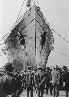 RMS Lusitania New York 1907  Photo: Anonymous