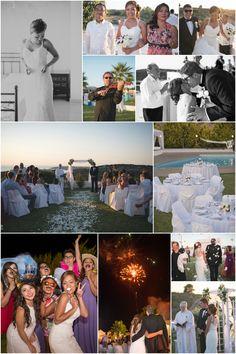 Crete, Real Weddings, Wedding Planner, Photo Wall, Polaroid Film, Movies, Movie Posters, Image, Decor