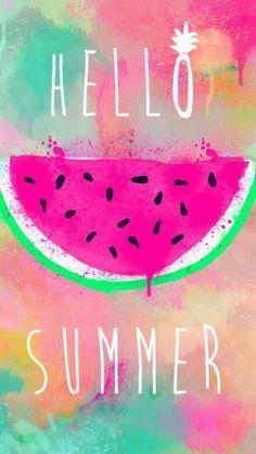 Hello summer , background wallpaper , tumblr