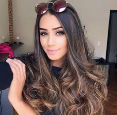 - All For Hair Color Trending Pretty Hair Color, Hair Color Purple, Hair Colors, Color Black, Hair Color Highlights, Hair Color Balayage, Bayalage, Brown Highlights, Bronze Hair