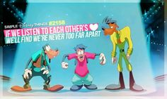 <3 A GOOFY MOVIE. Max, Goofy and Powerline!