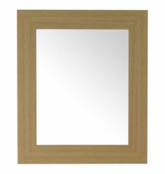 Colours Bullnose Oak Effect Framed Rectangular Mirror (W) - B&Q for all your home and garden supplies and advice on all the latest DIY trends Garden Supplies, Home And Garden, Colours, Simple, Frame, Room, Mirrors, Bright, Home Decor