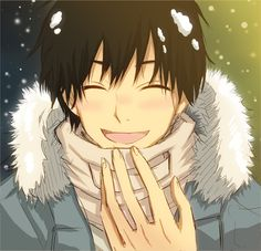 Also, I fell in hard, legit love with Kazehaya Shouta from Kimi ni Todoke. Even though he looks like every single anime boy ever. -w-