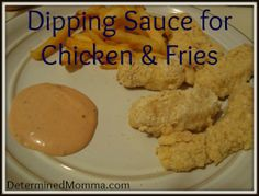 Chicken Dipping Sauce for Chicken and Friends (Just like Raising Caine's and Zaxby's!)
