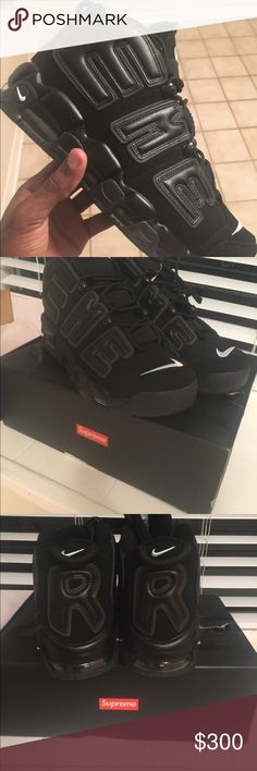 8441cbeb275 Shop Men s Supreme Black size 10 Shoes at a discounted price at Poshmark.  Description  No trades Size Sold by soopaclusives.