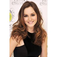 Leighton Meester mit Glamour-Welle ❤ liked on Polyvore featuring leighton meester, people, gossip girl, girls and leighton