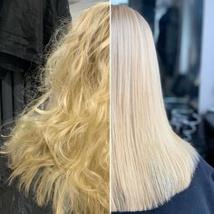 Brightening up Vicky's hair with root colour, foils and #olaplex #beforeandafter  #modernsalon #salonvibes #salon #hairbrained #btcpics #behindthechair #hair #salonlife #hairstyle #haircolor #hairtrends #trendyhair #beautifulhair #hairstyles  #hairoftheday #hairofinstagram #instahair #photooftheday #inspiration #instagood #blondehair #brightenupyourhair Trendy Hairstyles, Wedding Hairstyles, Hair Colorist, Haircolor, Curly Hair Styles, Natural Hair Styles, Hair Brained, Scene Hair, Hair Painting