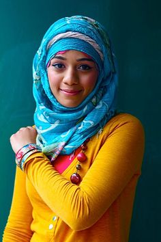 There are many ways of wearing the hijab, as photographer Sara Shamsavari's pictures of Muslim women on the streets of London demonstrate. Her photographs are being exhibited at the Royal Festival Hall for International Women's Day as part of the Women of the World festival.