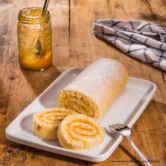 Biskuitroulade » Kochrezepte von Kochen & Küche Austrian Recipes, Cornbread, Dairy, Cheese, Cake, Ethnic Recipes, Food, Vienna, Marketing