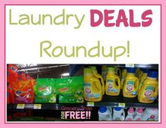 Laundry Products Roundup!