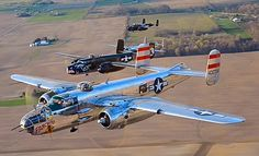 B-25s on the move.