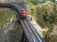 Model Train Layouts by Rasch Studios, via Flickr