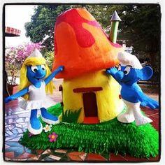 #thesmurfs #lospitufos #piñatas #piñatasartisticas #niños #diversionparatodos #pitufina #boys #girls #fiesta #party #hechoenvenezuela