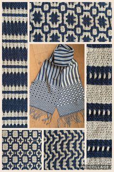 Deflected double weave, pattern Madelyn van der Hoogt