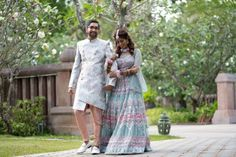 Destination Wedding in Phuket With a Stunning Love Story Lehenga & A Pretty Personalised Henna Design Too - Witty Vows Indian Destination Wedding, Mehendi Outfits, Bridesmaid Getting Ready, Thailand Wedding, Dinner Outfits, She Girl, Saree Look, Groom Outfit, Other Outfits
