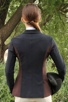 Ladies Xtreme Collection -  Navy/Brown Soft Shell-W8507 picture