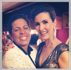 Fátima e Melissa. Fátima mais linda do que nunca!!