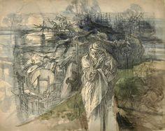 Cyprian Kamil Norwid 1821-1883 (Polish), Solo(Melancholia)1861