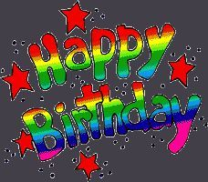 Happy Birthday In Colorful Letters Birthday Emoticons