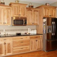 Embled Hickory Kitchen Cabinets By Colorado Springs 1155
