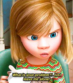 "The camera is often a little shaky when Riley is sad or upset. | 19 Super-Interesting Facts About Pixar's ""Inside Out"""