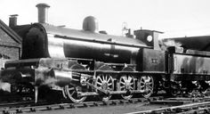 Old photograph of a Steam Engine in Perth, Perthshire, Scotland Steam Railway, Abandoned Train, Railway Museum, British Rail, Rolling Stock, Model Train Layouts, Steam Engine, Steam Locomotive, Model Trains