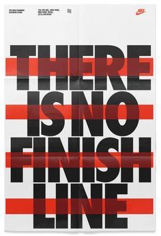 There is no finish line.
