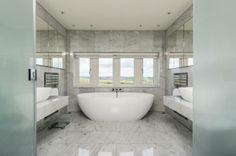 The incredible master bedroom en-suite #Yorkshirepropertyoftheweek